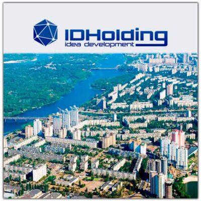 Разработка дизайна сайта для компании IDHolding