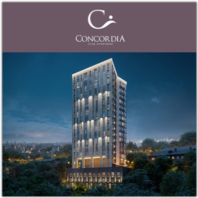 "Разработка лендинга для клубного дома ""Concordia"""